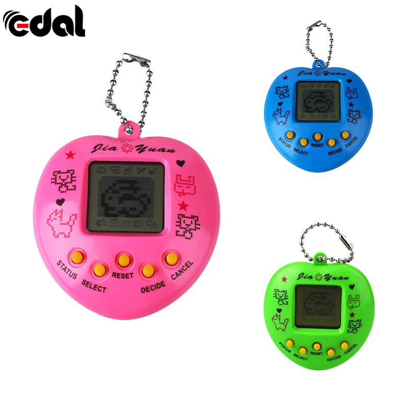 1 pc Pet Game Machine Pet 168 Learning Educational Toys Portable Handheld Gaming Device For Children 3-7 Year Old Random Color