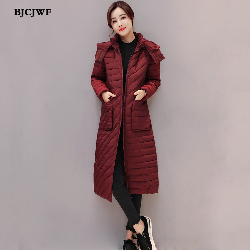 Winter Jacket Women 2017 Thick Warm Female Jacket Cotton Coat Casual Parkas jaqueta feminina inverno Women Hooded Long Slim Coat 2 pcs 3 6v 2100mah ni mh rechargeable power tool battery replacement for black