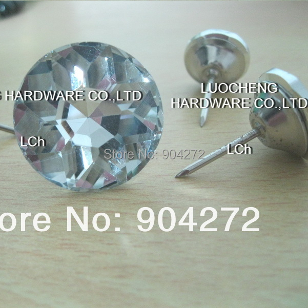 200PCS/LOT 20MM DIAMOND FLOWER CRYSTAL NAIL BUTTONS SOFA INDUSTRY AND OTHER  DECORATION FILEDS In Cabinet Pulls From Home Improvement On Aliexpress.com  ...