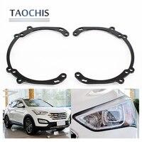 TAOCHIS Retrofit Adapter Frame With AFS Head Light For Hyundai New SantaFe Hella 3R G5 5