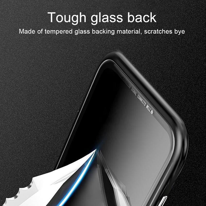 For Samsung S10 Plus Case Magnetic Adsorption Flip Metal Tempered Glass Cover Case For Samsung Galaxy S10 S10e S10plus Case Capa (9)