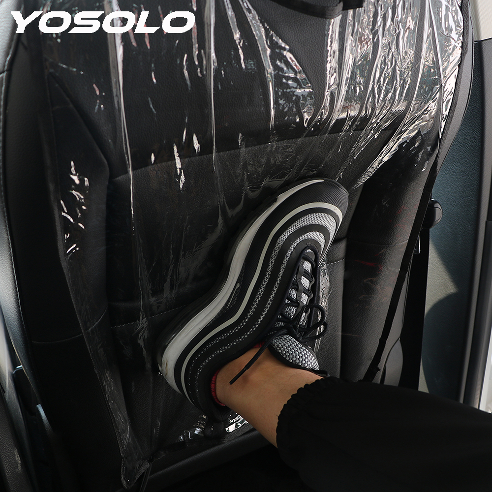 YOSOLO Anti Child Kick Pad Car Styling Car Seat Back Protector Seat Back Covers Protects Mat Auto Accessoires From Mud Dirt