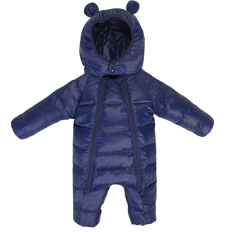 f7f41c11a Mioigee 2018 Winter Warm Baby Rompers Jumpsuit Children Down ...