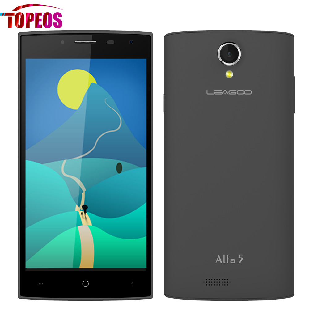 Leagoo Alfa 5 5 0 inch SC7731 Quad Core Cellphone Android 5 1 1GB RAM 8GB