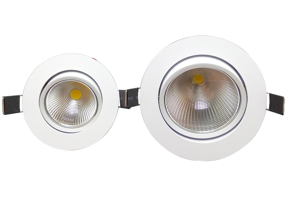 1 Stück Home LED Cob Epistar Einbau Downlight dimmbar 5W / 10W LED - Innenbeleuchtung - Foto 3