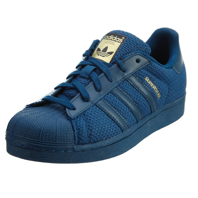 4c51b97d4 Sneakers S76624 Zapatillas Adidas Original Superstar Azul Niño en ...