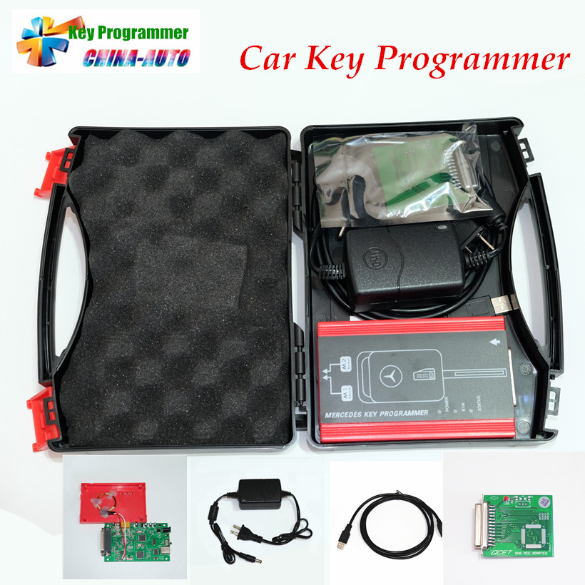 2016 Professional Auto Key Programmer For Me-rc-edes Be-n-z key programming tool Car Key Maker DHL Free top rated ktag k tag v6 070 car ecu performance tuning tool ktag v2 13 car programming tool master version dhl free shipping