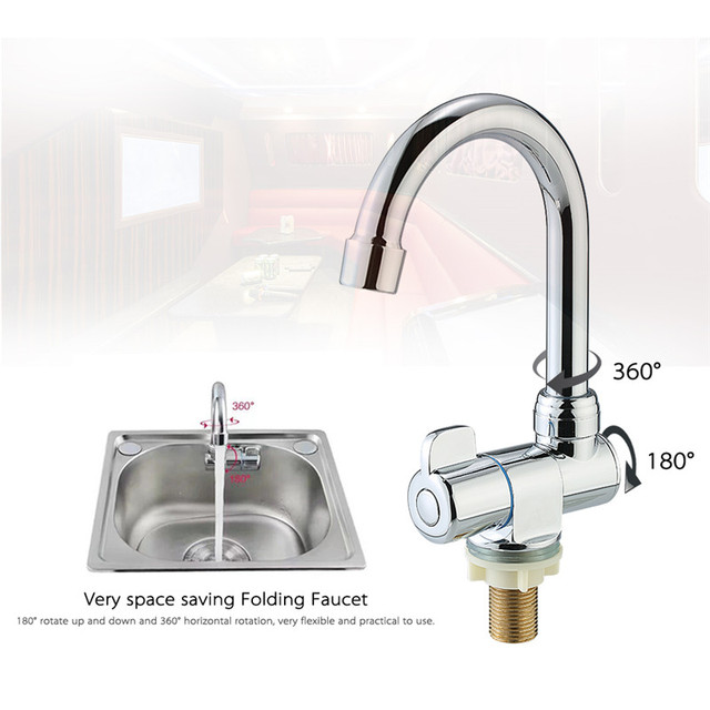 Deck/Wall Mounted Rotating RV Faucet High end Kitchen Faucet for ...