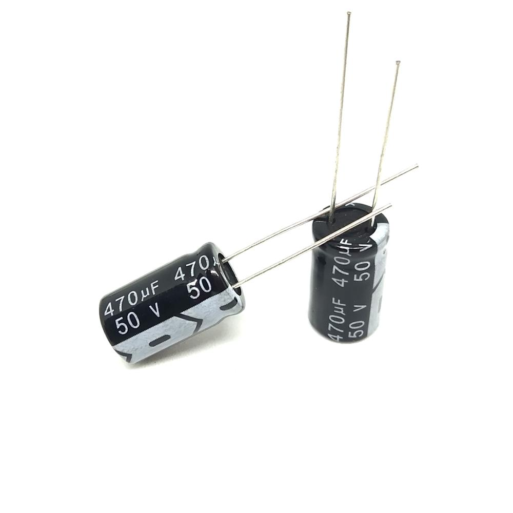 50V470Uf Electrolytic capacitor HiFi audio Capacitors High frequency
