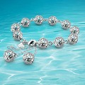 Korean Version Of the 925 Sterling Silver Hollow Ball Bracelet, Round Bead.Women Bracelet, Delicate And Lovely Gifts