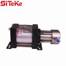SITEKE XH06 Gas-liquid booster pump Max Output Pressure 59.6 Bar Air Driven Liquid Pumps  for oil or water applications
