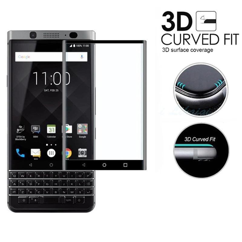 3D Tempered Glass Film for Blackberry KEYone Full Coverage Screen Protector for Mercury KEY one DTEK70 PRESS Full Body Film(China)
