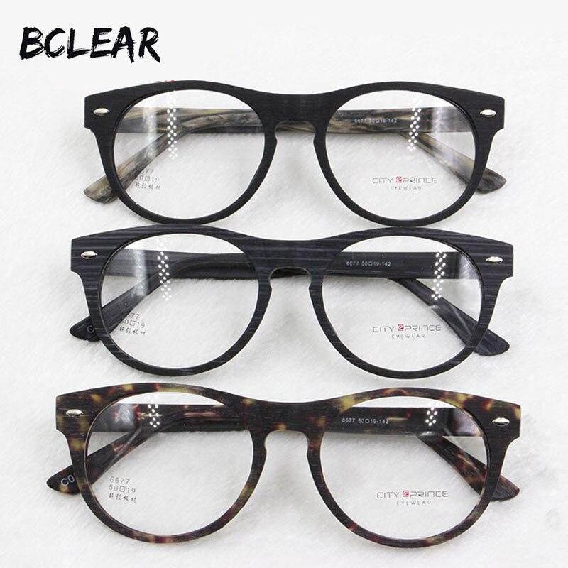 bd40cf916db BCLEAR Fashion acetate optical frame new arrival high quality most popular  eyeglasses retro style eyewear frame