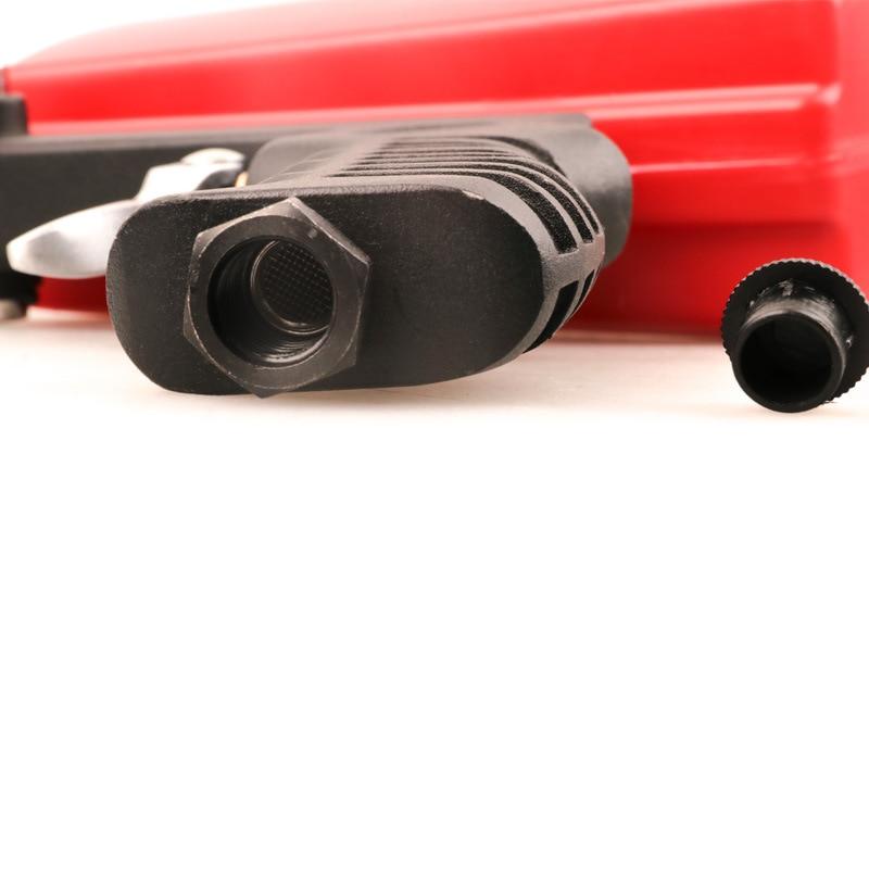 Image 5 - 90psi Portable Gravity Sandblasting Gun Pneumatic Small Sand Blasting Machine Adjustable Pneumatic Sandblasting Set-in Spray Guns from Tools on