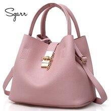 SGARR, черные, красные женские сумки, сумка-мешок, через плечо, на одно плечо, Женские Дизайнерские Сумочки, роскошная сумка-мессенджер, женские сумки для мам