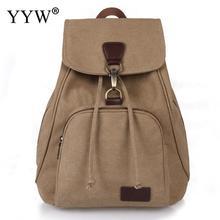 YYW женский холщовый рюкзак женский консервативный стиль школьная сумка для девушек Студенческая дорожная сумка для ноутбука Mochila Molsas Bolsa Mochila