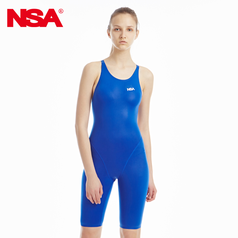 NSA competition italy fabric knee length one piece women's training & racing swimwear one piece waterproof swimsuit кабель titech tt nsa