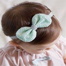 2018 New Children Girls Handmade Bowknot Headband Hair bands Baby Headwear Hair Accessories 1pcs original 1pcs ssg45c30