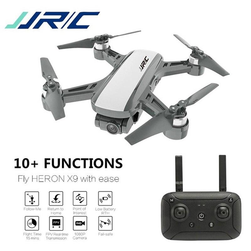 Presell JJRC X9 Heron Gps 5g Wifi Fpv avec caméra 1080 p positionnement de débit optique maintien d'altitude suivre quadrirotor Rc Drone Rtf