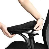 2PCS New Memory Foam Sponge Safety Handle Removable Armrest Cushion Pads Elbow Arm Rest Cover Chair