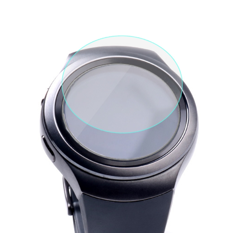 Tempered Glass Watch Protector Film For Samsung Gear S2 Clean Screen Protection image