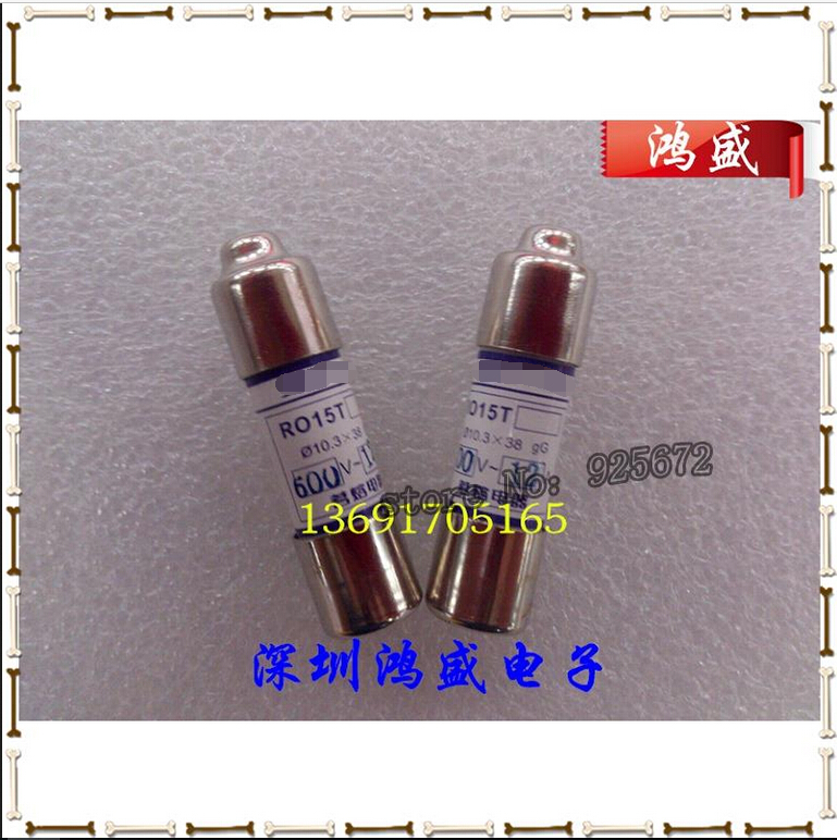 MRO R015T Nameplates Melt Fuse 15 A 600 V 12 A 16 A Insurance Tube Can Replace KLDR KTK - R      .