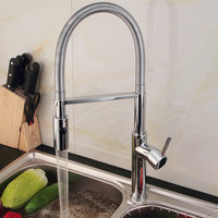2015 Single handle single hole kitchen faucet pull out and down kitchen tap torneira cozinha kitchen mixer
