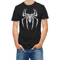 T Gömlek Tribal Örümcek Gevşek Siyah Erkekler T Shirt Homme Tees Yaz Pamuklu Tişört Moda Farklı Renkler Yüksek Kalite