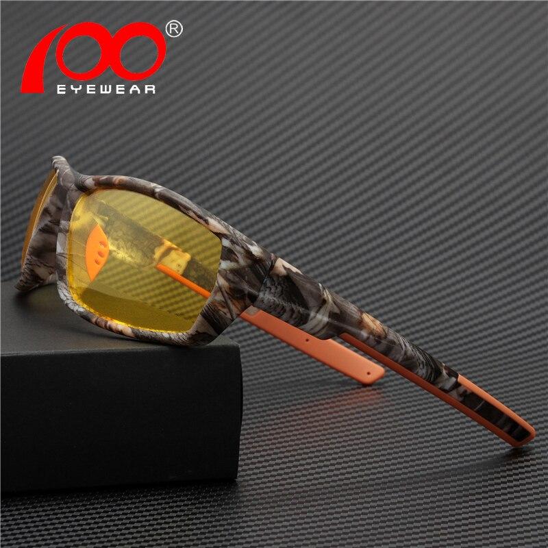 Glasses Night-Vision Driver Polarized UV400 For -Sg8621ty Sprots Designer Brand