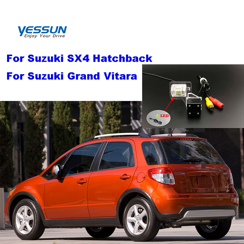 Yessun License plate camera For Suzuki SX4 Hatchback Suzuki Grand Vitara Car View camera Parking Assistance(China)