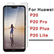 2 pcs Lite Protetor De Tela de Vidro Para Huawei P20 no huawey P20lite luz Mais Pro Temperado Glas Protetora verre tremp P20Pro