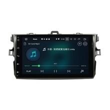 "2 din 9 ""Android 8,0 Car Audio DVD Радио gps для Toyota Corolla 2006-2011 4 ГБ Оперативная память bluetooth WI-FI USB Зеркало-link 32 ГБ Встроенная память"