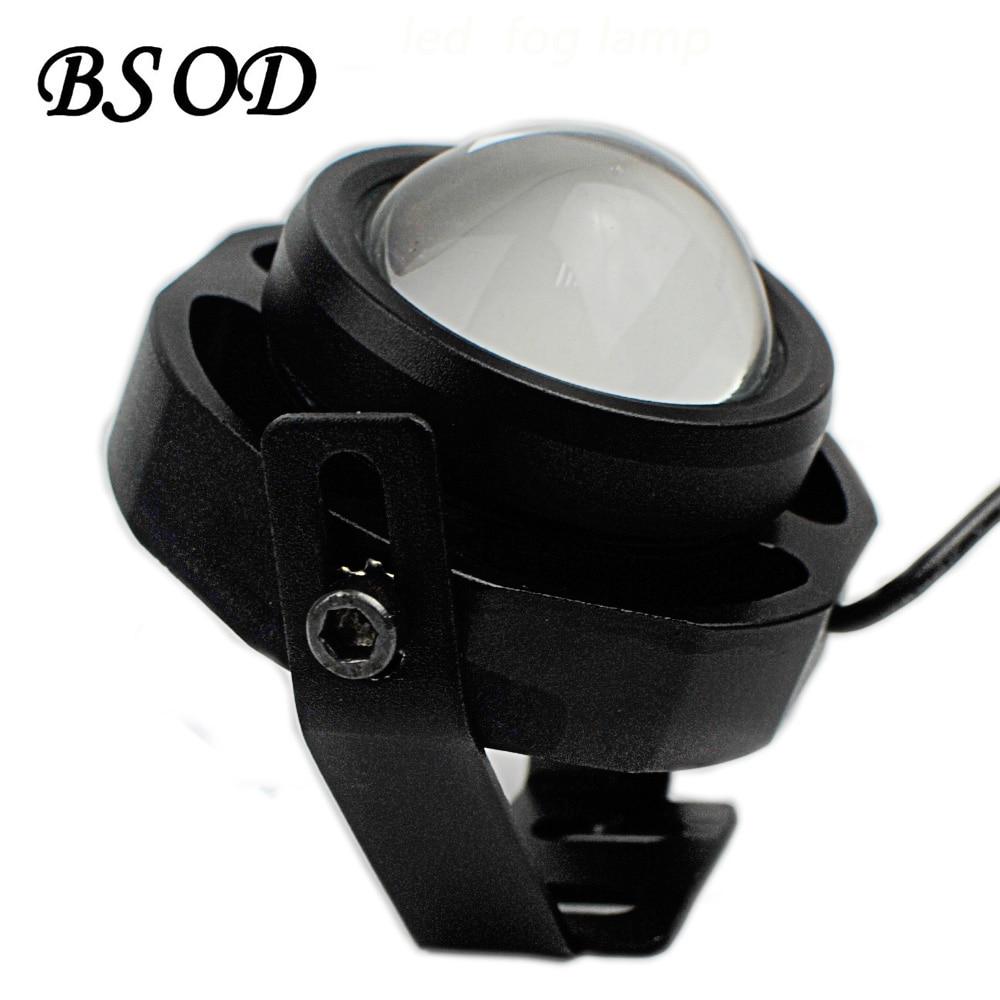 BSOD Led Brouillard Lampe pour Voiture et Moto DC12V 10 W Étanche IP65 Distance 150 mètre Super Luminosité