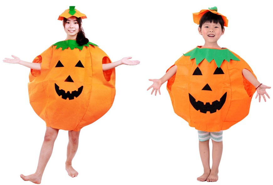 Pumpkin Halloween Party Hat Halloween Pumpkin Hat and shirt Suitable for Kids&adults Free Shipping