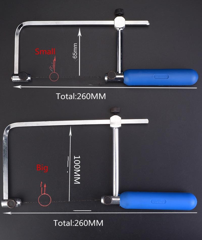 Направи си сам дървообработваща трион превъртане копиране метален инструмент U форма замяна ножове гирляндървес тел ножовка резба