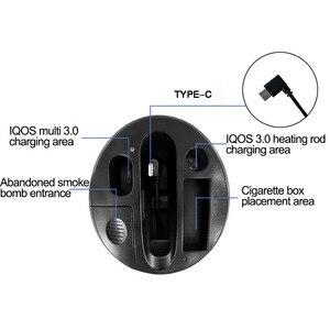 Image 5 - JINXINGCHENG type c Design 2 en 1 chargeur de voiture pour IQOS 3.0 /Multi 3.0 chargeur matériel ABS de charge