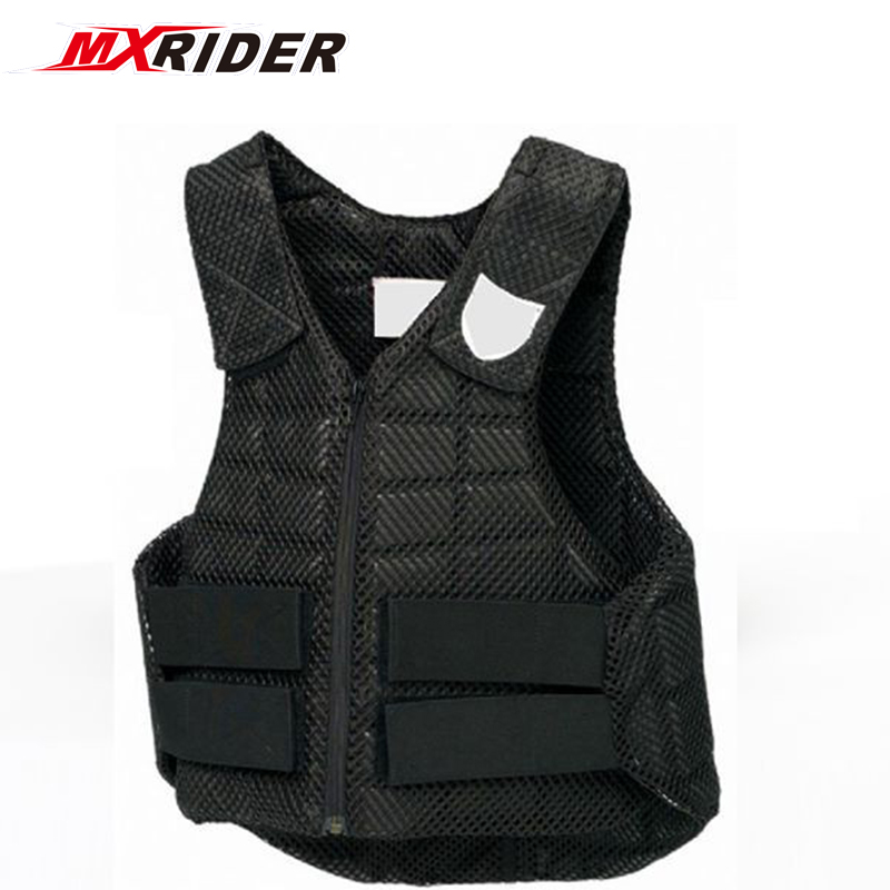 horse riders safety body protector clothing equestrian vest safety equestrian horse riding vest protective body protector black adult sportswear camping hiking accessories shock absorption