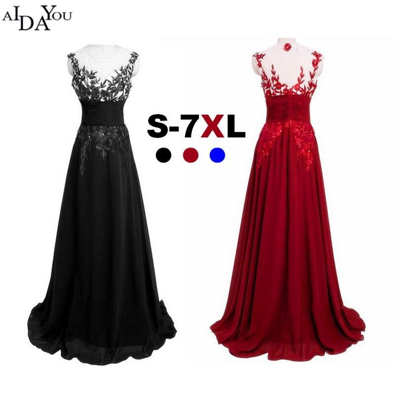 fd335f2403b Плюс большой размер 5XL Женское Платье синее вечернее длинное кружевное  Сетчатое платье длиной до пола тонкое vestido выпускное вечернее платье.