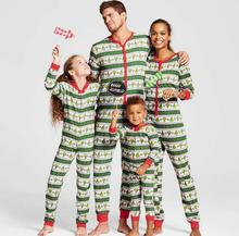 matching christmas pajamas family look mother and daughter son outfits nightwear father son clothes family matching pajamas