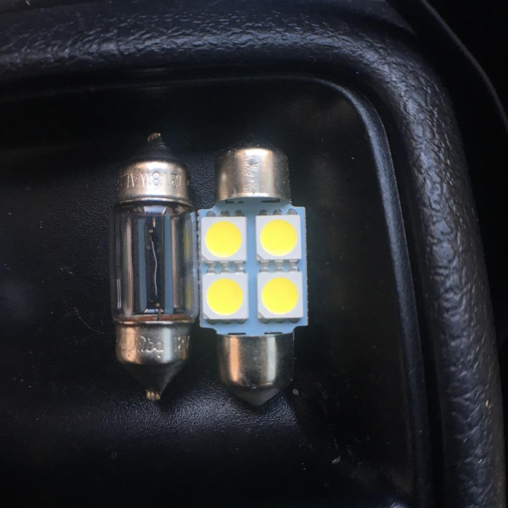 10pcs High Quality Auto LED Light Bulbs Interior Kit For 2006 2007 2008 2009 2010 Mazda 5 Canbus Led Map Dome License Plate Lamp