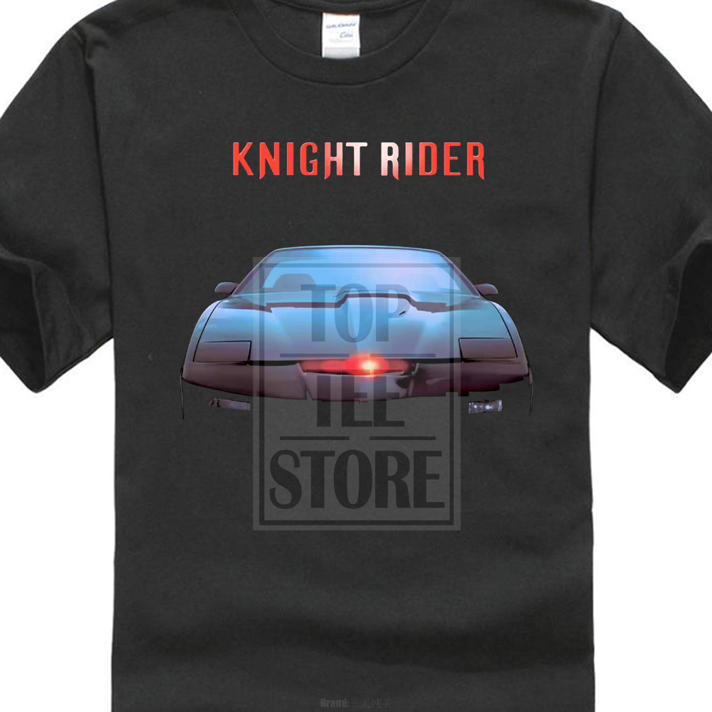 Knight Rider Series Chinese Version David Hasselhoff Ver T Shirt S - Car show t shirts for sale