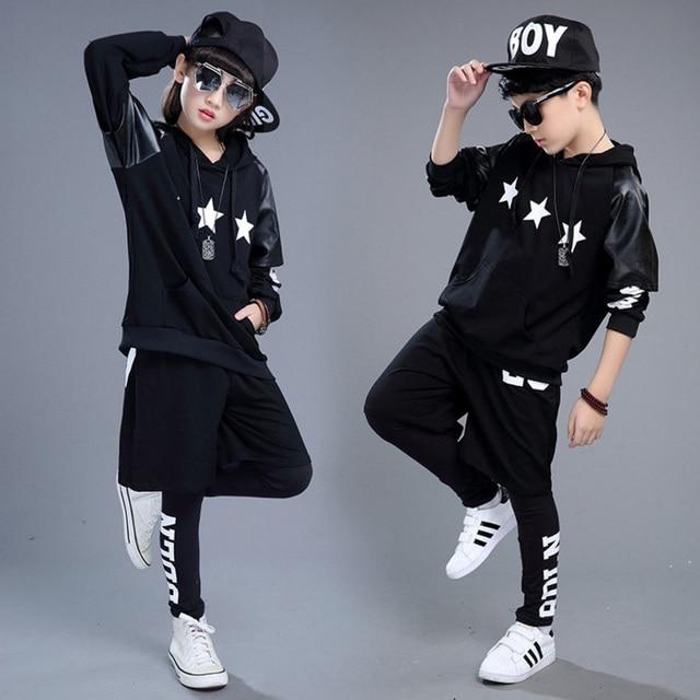 детские толстовки в стиле хип хоп одежда для девочек и мальчиков