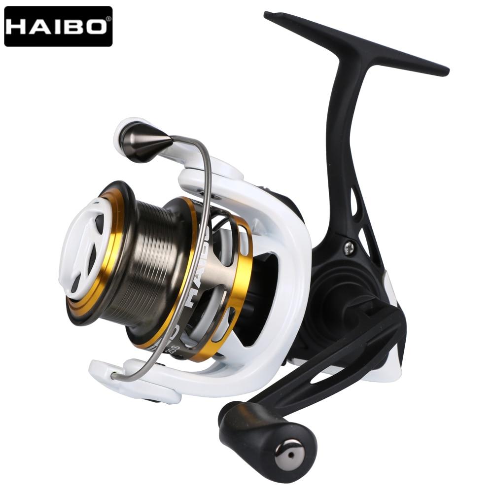Haibo STEED Spinning Reel 5.2: 1 8BB + 1RB teljes fém halászati - Halászat