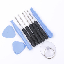 10 In 1 Cell Phones Opening Pry Mobile Phone Repair Tool Kit Screwdriver Set For iPhone Samsung htc Moto Accessory Bundles