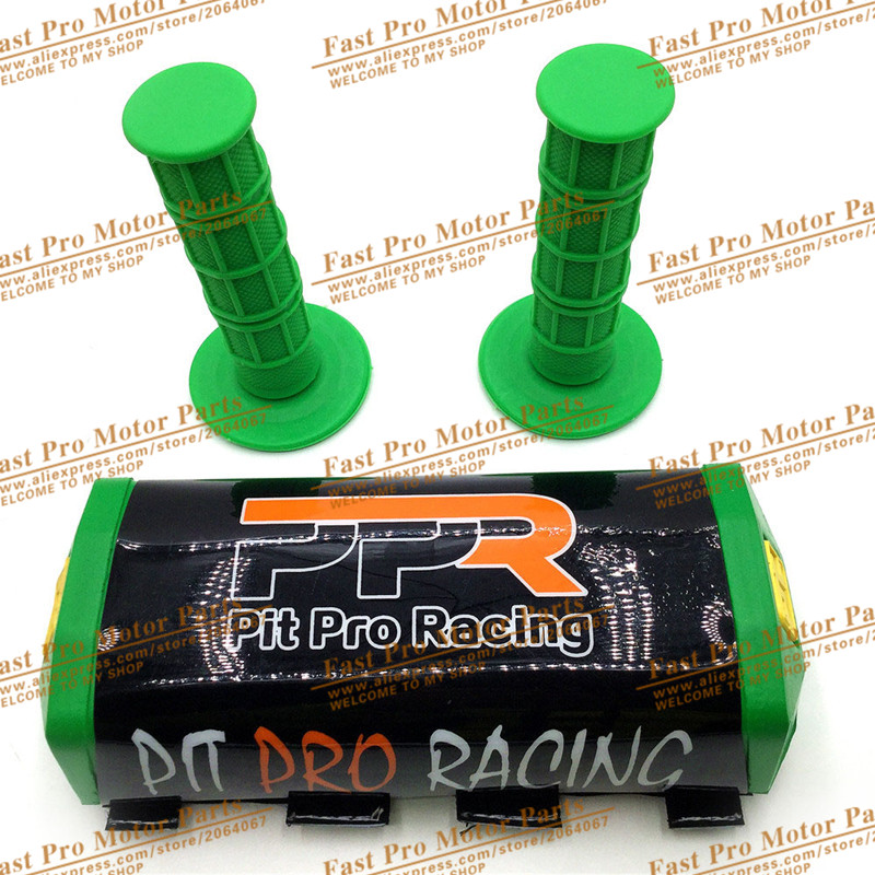 Dirt Bike Parts Pit Bike Protecor Motocross Bar PROTAPER Handlebar Breast Pad & Handle Grips Soft Grip Handlebar Pads 6 Colour