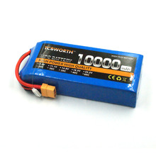 New RC 3S Lipo Battery 11.1V 12000mAh 25C For RC Airplane Quadcopter Helicopter Drone FPV Racers 3S RC Li-Po battery TCBWORTH