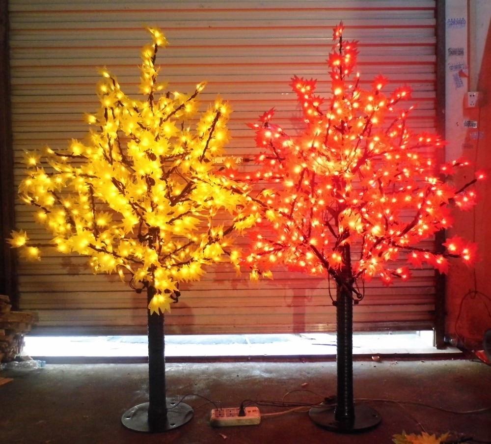 636 LEDs 5ft Height LED Maple Tree LED Christmas Tree ...
