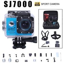 Новый Действий камеры Новатэк 96658 Wi-Fi 1920×1080 P 30fps 14MP 2.0 «ЖК 170D AR0330 объектив Шлем подводные перейти водонепроницаемый pro камеры