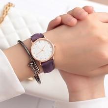 лучшая цена JBRL Brand 2018 Simple Wrist Watch Women PU Watch Ladies Wristwatch For Female Clock Forest Hours Gifts For Women Free Shipping