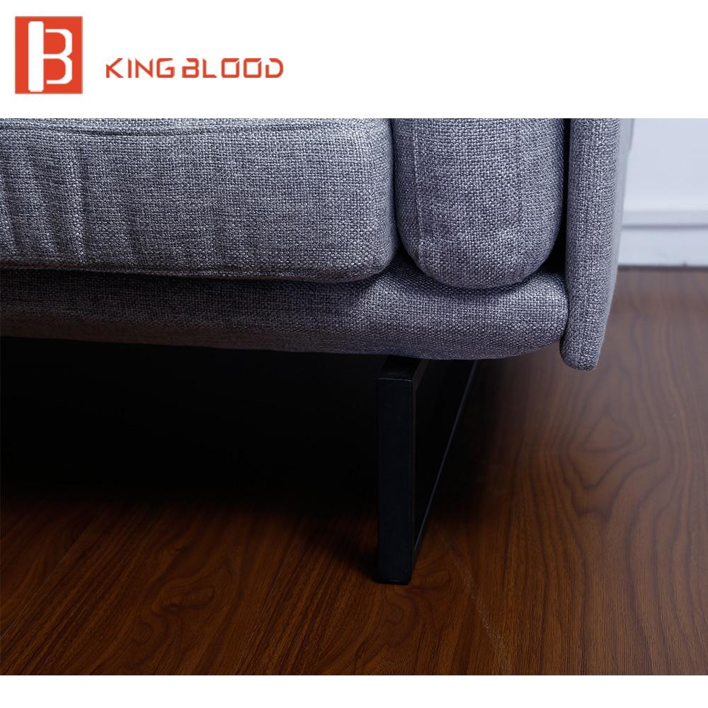 Kain Kontemporer 2 Seater Sofa Set Desain Furniture Untuk Ruang  # Muebles Potugueses